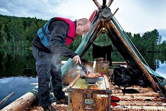 На плоту через Швецию