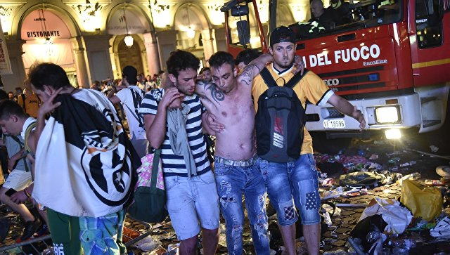 Причиной смертельной давки в Турине стал розыгрыш подростков