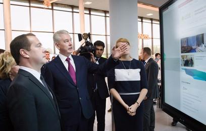 Собянин рассказал Медведеву о дополнительном образовании в столице