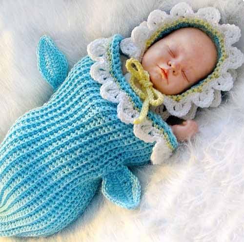 вязание конверт для младенца
