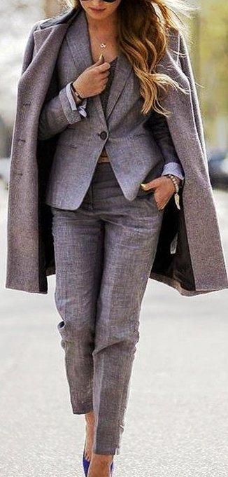 Брючный костюм — как носить, чтобы чувствовать себя уверенно, комфортно и женственно