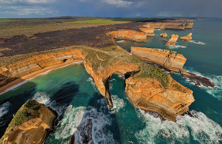 Скалы 12 апостолов, Австралия