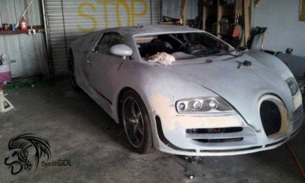 Самодельный Bugatti Veyron