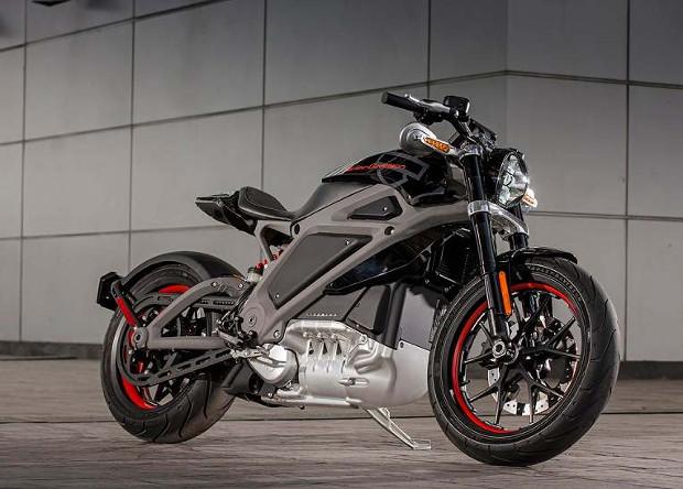 Электромотоцикл Harley Davidson получит рев реактивного двигателя