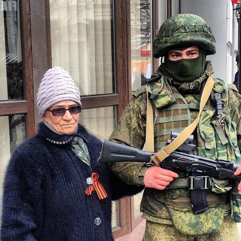 """""""Вежливые люди"""" и их Крымская весна"""