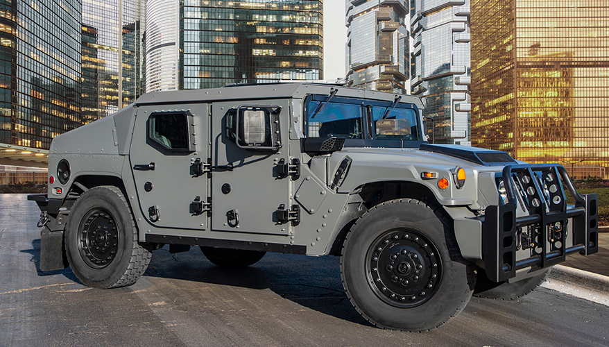 Модернизированный вариант автомобиля HMMWV