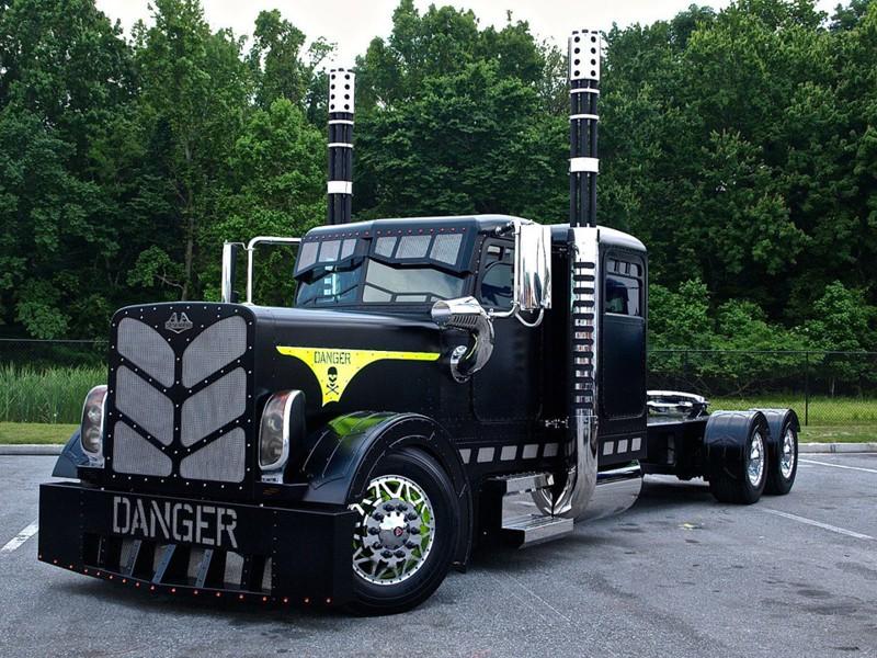 Американский тюнинг грузовиков Peterbilt & Kenworth