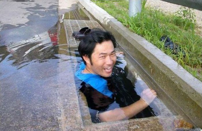 19. Кажется, будто этот парень пошел купаться с черепашками-ниндзя бассейн, своими руками