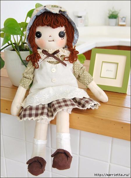 Как сшить куклу. Выкройка и фото мастер-класс (30) (450x609, 173Kb)