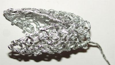 Змея - плетение из фольги - своими руками. Символ 2013 года. Мастер-класс Олеси Емельяновой. Голова змеи