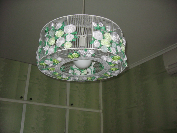 Потолочный светильник для кухни своими руками