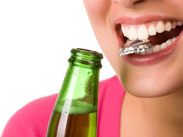 Зуб-открывалка для пива