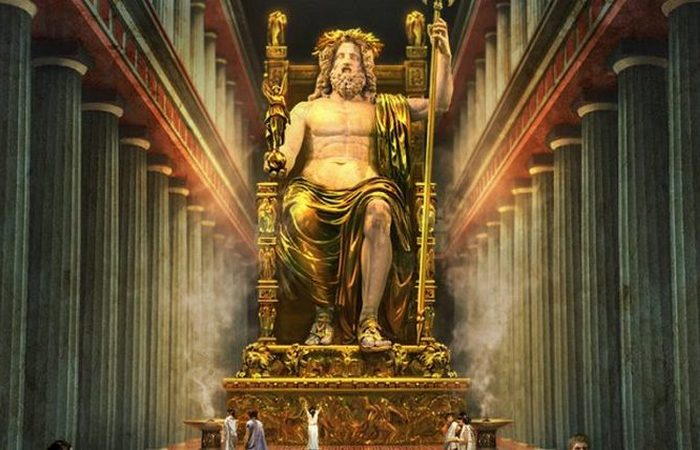 Семь чудес света: статуя Зевса.
