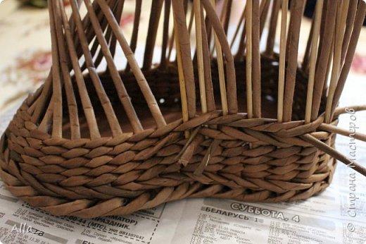 Мастер-класс Поделка изделие Плетение Как я делаю башмак Трубочки бумажные фото 7