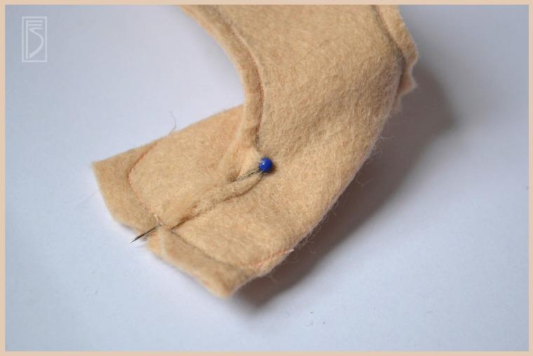 Шьем куклу — очаровашку из тонкого шерстяного фетра