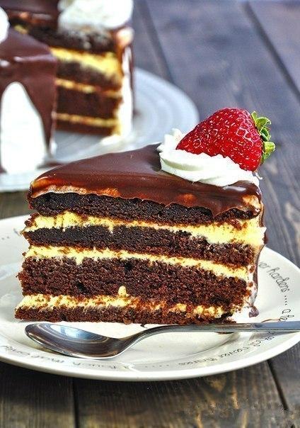 """Шоколадный торт """"Соблазн""""."""