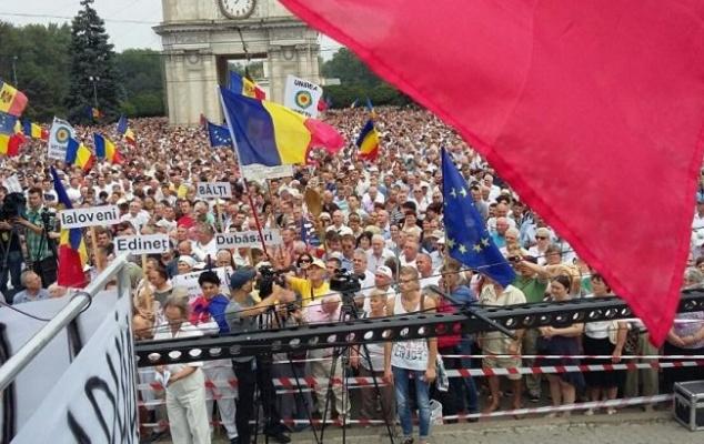 Страна солнечной нищеты: молдавский протест и его цена