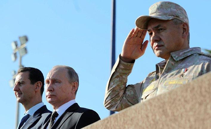В Сирии Россия готовит сокру…