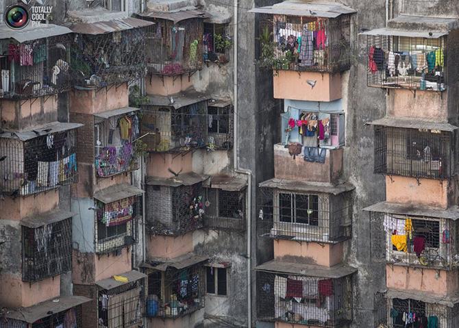 Как выглядят жилые дома в Мумбаи