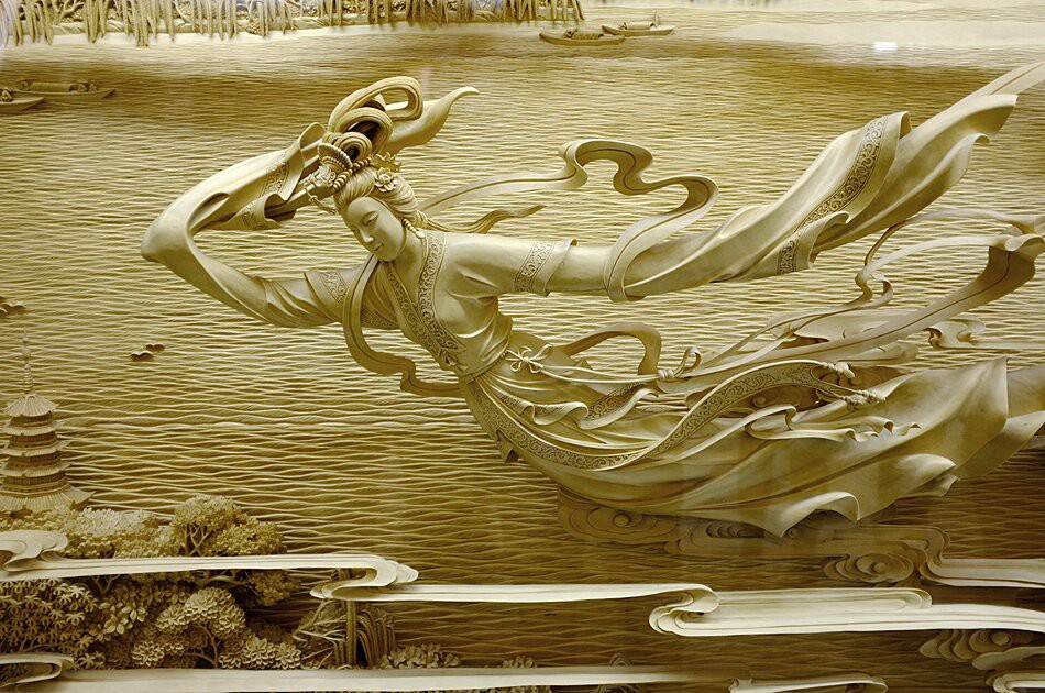Восхитительные работы - искусство резьбы по дереву