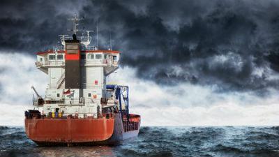 Турецкое судно пыталось поме…