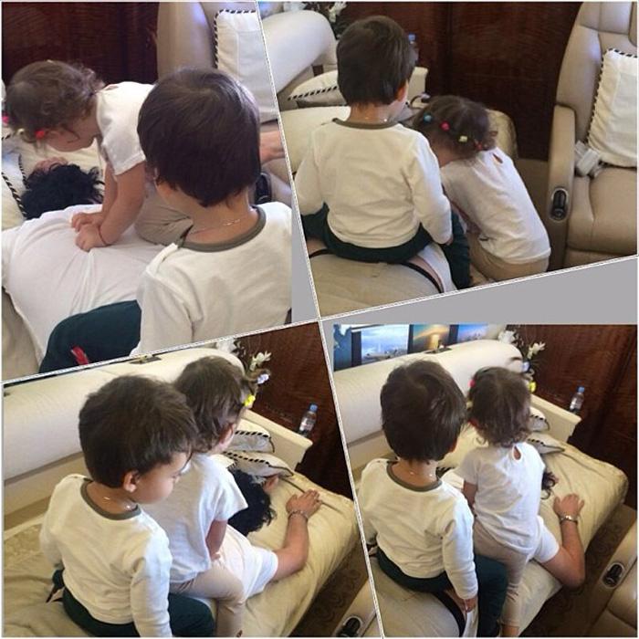Киркоров решил показать своих детей народу (видео)