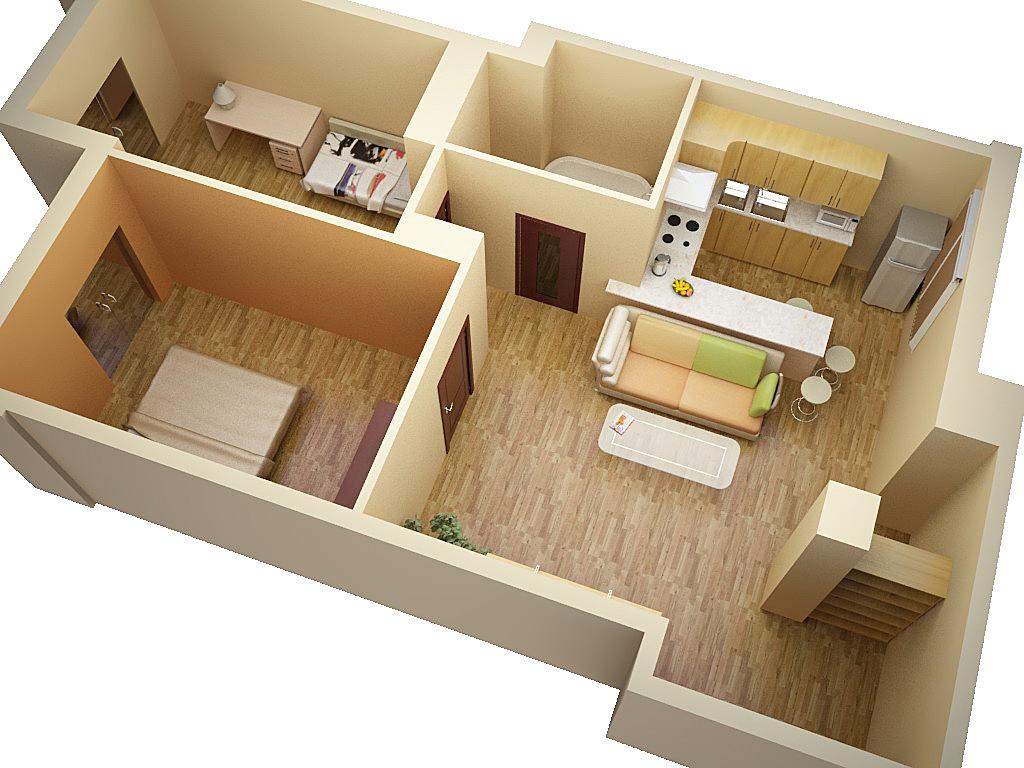 Дизайн квартиры 30 метров типовой застройки примеры