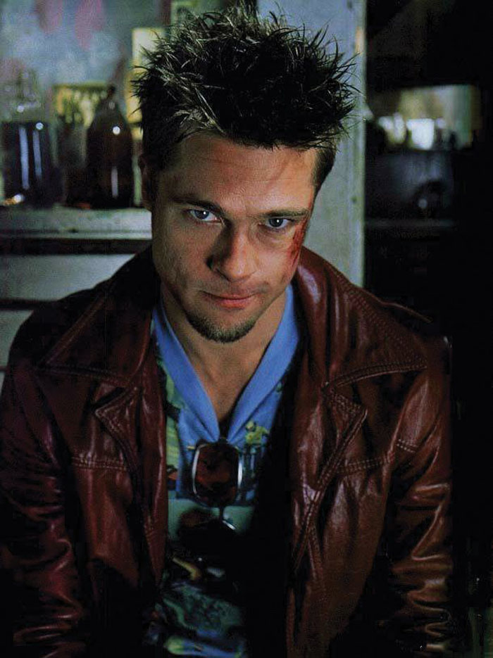 Брэд Питт (Brad Pitt) в фотосессии для фильма «Бойцовский клуб» (Fight Club) (1999), фото 8