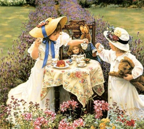 """изображение изображение изображение - Чайный домик """"Лепестки хризантем в чашке цвета неба"""""""