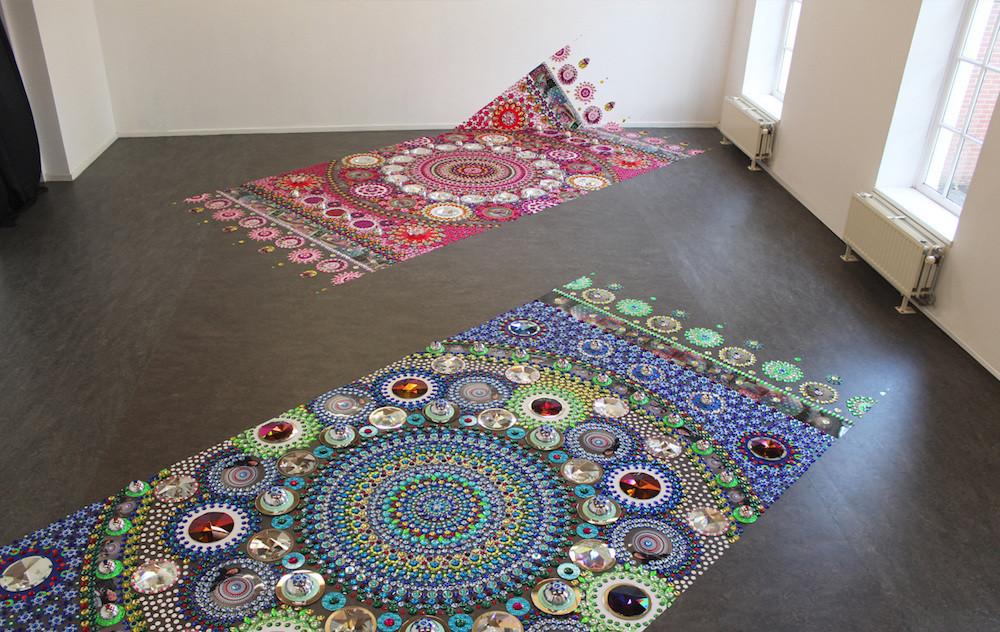 Современные ковры своими рукам
