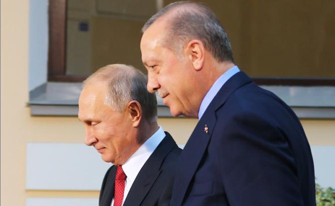 Эрдоган заставил Путина отказаться от Идлиба