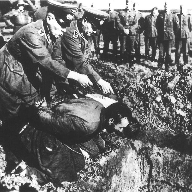 Звериная жестокость немецко-фашистских оккупантов