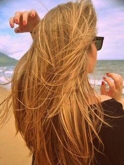 Фото девушек блондинка спиной на аву в