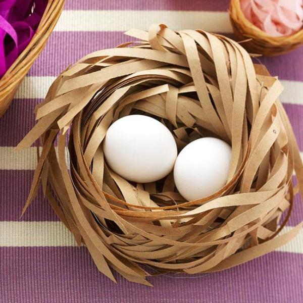 Как сделать гнездо поделку своими руками