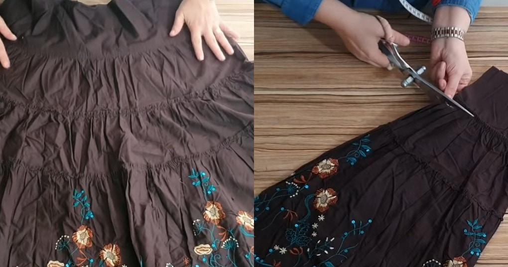 Чудесное перевоплощение устаревшей юбки