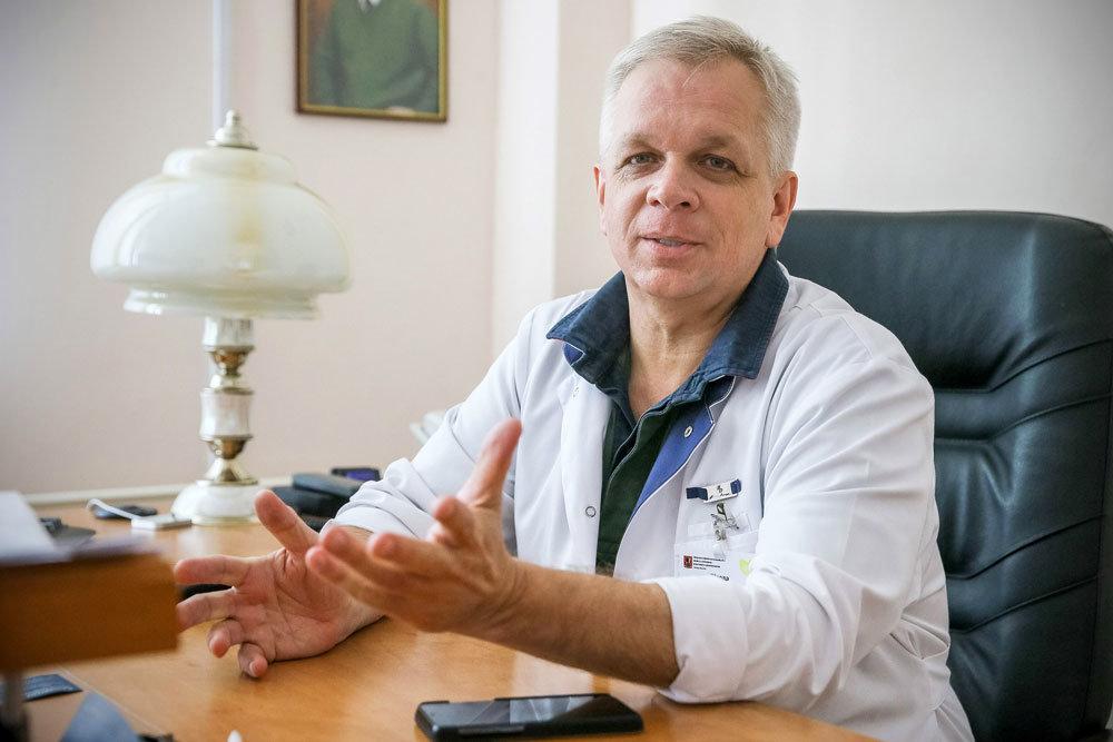 Андрей Шкода рассказал о работе спинального центра 67-й больницы