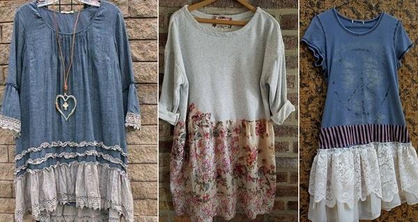 Ультрамодные идеи пошива новой одежды из старой