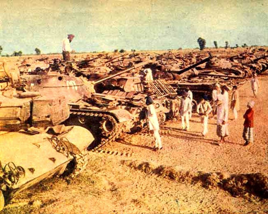 «Паттон-Нагар», конец 60-х - Индо-пакистанская война 1965 года: танковое сражение за Асал-Утар   Военно-исторический портал Warspot.ru