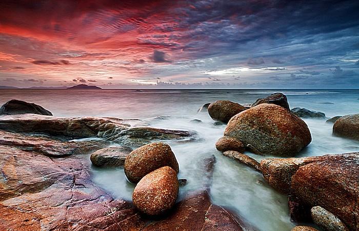 Цветное море