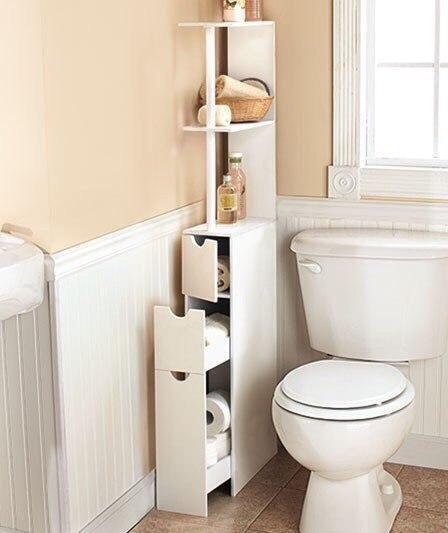 Как сэкономить место в ванно…