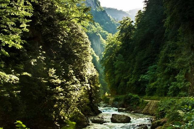 Гуамское ущелье, Россия