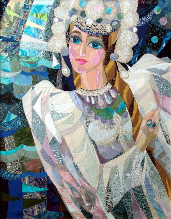 Лоскутных дел мастер Валентина Максимова и её прекрасные работы