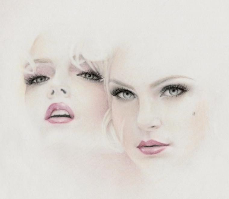 Женские образы Bec Winnel: 15 бесконечно мягких работ