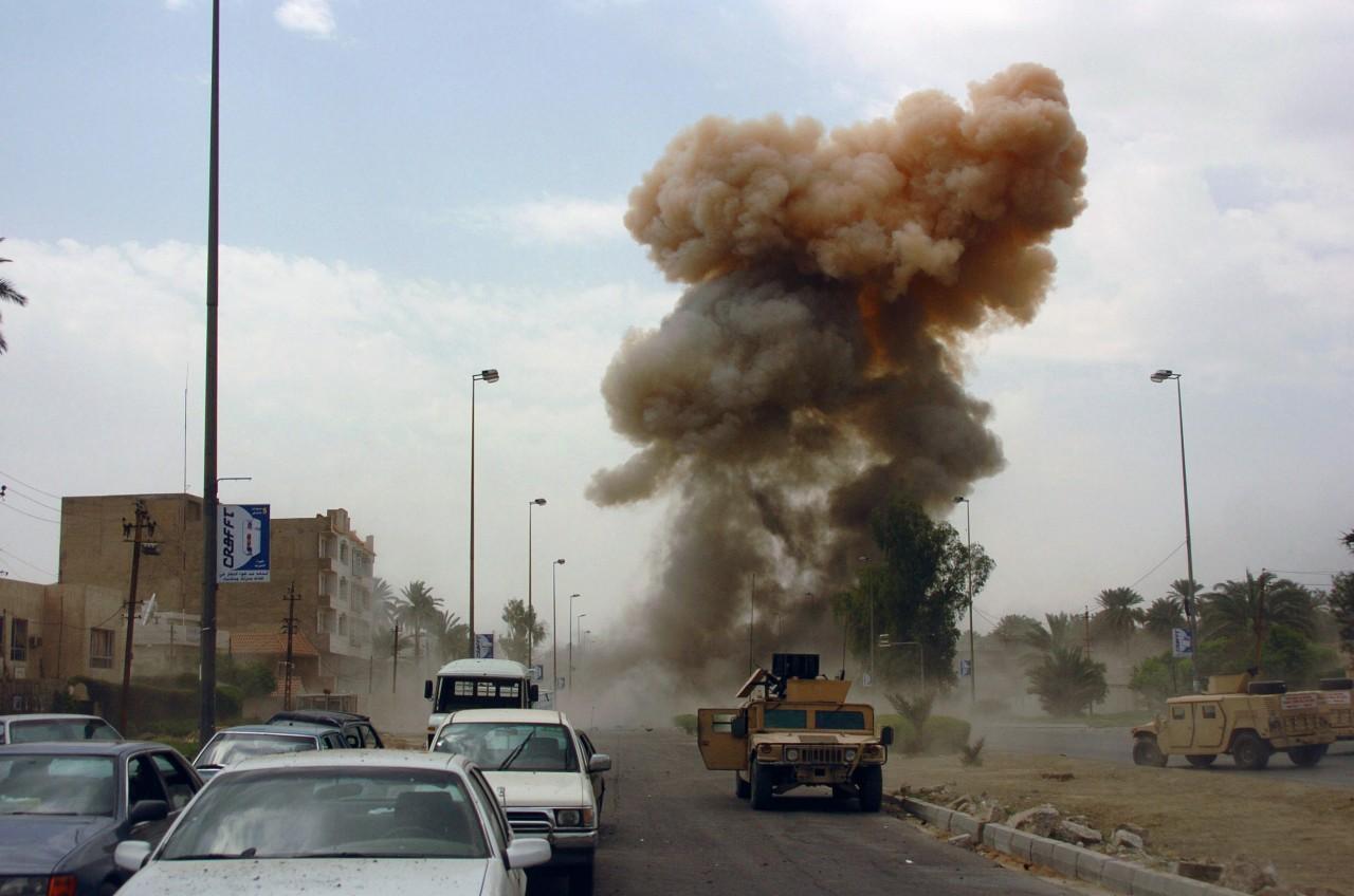 В Сирии на совещании международной коалиции взорвалась бомба