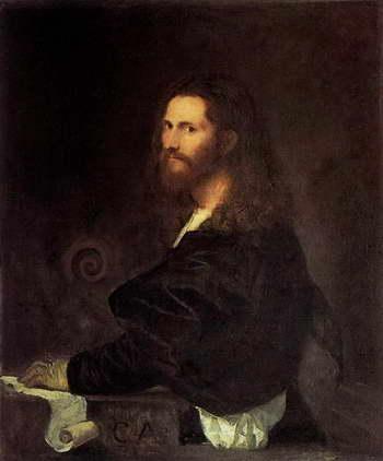 Тициан. Портрет музыканта