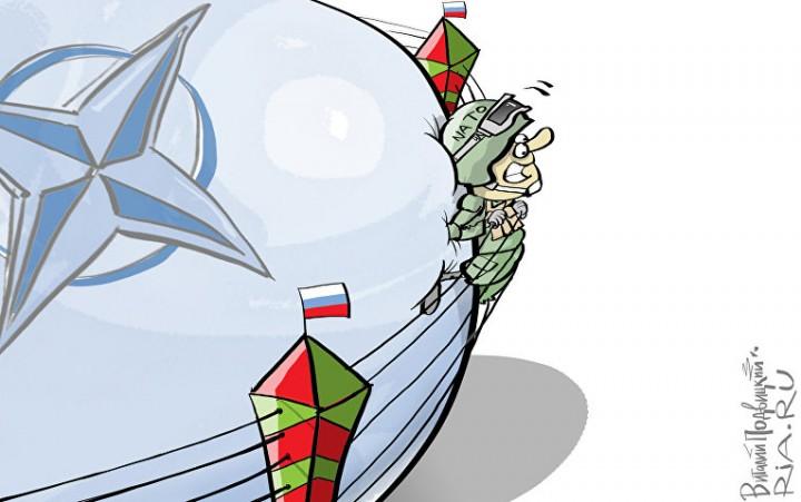 НАТО идет на контакт. Подпустим врага еще ближе