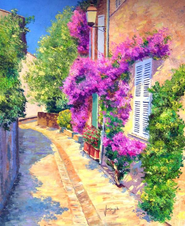 Яркие краски Прованса на картинах художника-самоучки  Jean Marc Janiaczyk
