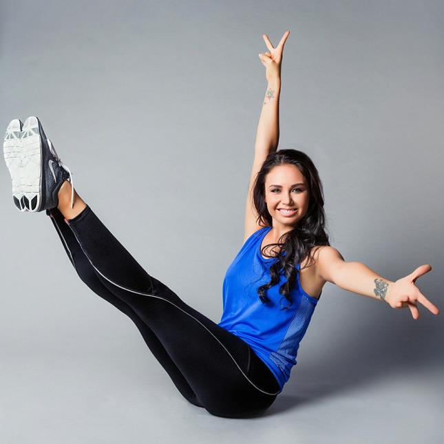 Гимнастический заряд: комплекс упражнений от Ляйсан Утяшевой