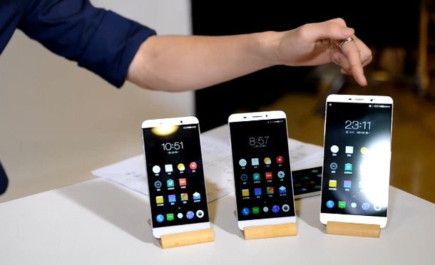 «Суперфоны» LeTV: экран Quad HD, до 4 Гбайт ОЗУ и чип Snapdragon 810