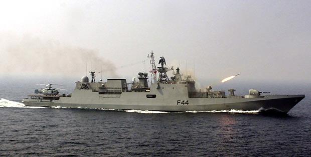 Фрегат Talwar ВМС Индии